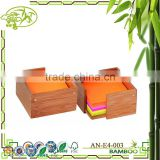 Aonong Bamboo Sticky Note/ Memo Holder Natural