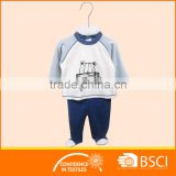 2 pcs design warmly cartoon night suit baby sleep suit