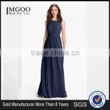 MGOO 2016 Formal Occasions Pleated Chiffon Maxi Dress Pictures Of Latest Gown Plain Elegant Prom Dress