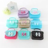High quality lovely chidren party candy jelly handbag little girl shoulder bag girls mini jelly bag