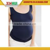 Custom fashion Sleeveless Pencil Fit Maternity tank top cotton spandex maternity womens apparel
