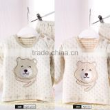 Skin care printed cotton long sleeves romper new fashion preemie baby clothes