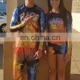 Athletics Competition Sublimation Print Wholesale Cheerleading Uniforms