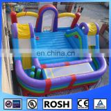SUNWAY giant infltable playground inflatable outdoor amusement park for sale kids inflatable fun city