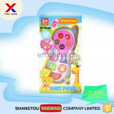 good quality 12 music songs inside flashing baby phone toy