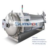 horizontal water spray autoclave sterilizer for price PLJ 12-4.B.4
