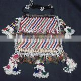 Tribal Kuchi Afghan Hand Embroidery Beaded Purse