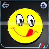 Customized Expression package engraved smiley face badges