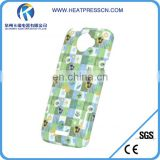 high quality best service 3D sublimation phone case for 3D HTC one x