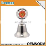 Hot sales gold color plated antique souvenir dinner bell