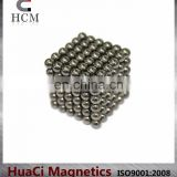 Colorful Neodymium 5mm Ni magnetic ball toy