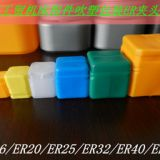 Plastic toolbox for Collets Set and Hardware package