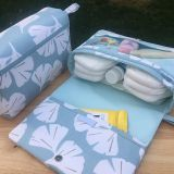 new diaper bag organizer with fabric printed fabric