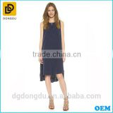 OEM Design China Supplier 2016 Lady Fashion Simple Casual Dress
