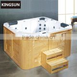Walk In Spa Bathtub Whirlpool Free standing Outdoor Hot Bath Tub