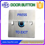 LED light exit button switch