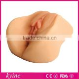 electric rubber plastic fake artificial girl vagina for men