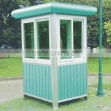 Prefab outdoor metal kiosk sentry box/prefab outdoor metal container sentry box / prefabricated houses sentry box