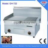 china factory Half flat & half grooved hot plate commercial gas griddle and grill stove