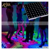 new moved stage/club/disco led dance floor/interactive video dance floor