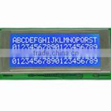 20x4 stn blue white cob lcd display module with LED backlight ,splc780d controller and pins connection.