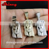 various color plating mini ice out bling jewelry,hip hop necklace for father's gift