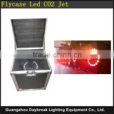 Road Case led co2 jet machine 110v-240v stage 18pcs * 3W RGB 3in1 with Flight Case Packing