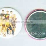 75 mm Original China Metal Crafts products shenzhen xiexing manufacturer tin badge mirror