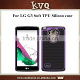 2015 Newest TPU+Silicon material case for LG G3