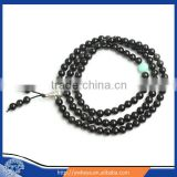 6mm 8mm amazonite and Obsidian crystal mala stone mala Prayer Bead