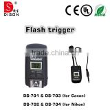 high speed wireless flash trigger for remote control led, action camera with remote control