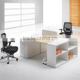 Modern office workstation modular 2 person partner desk (SZ-WSB317)