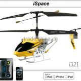 iOS devices control RC helicopter 3.5CH infared control rc helicopter