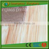 Ceramic and marbles substitute Marble Decorative Glass Tiles tempered glass price per square foot