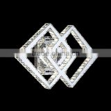 Modern K9 LED crystal wall lights for home decoration lamps