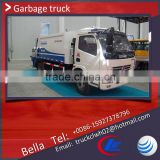 DFAC 4-6cbm garbage compactor truck for sale , competitive price small garbage truck