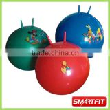 inflatable jumping ball hop ball bounce ball with cartoon printing kids playing ball