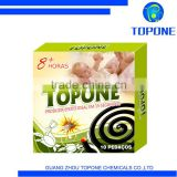 Topone Quality repellent incense , mosquito incense for Angola , black mosquito coil