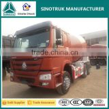 Best condition SINOTRUK small concrete mixer truck with pump