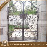 Sample available factory directly double iron entry interior door