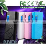 Convenient Portable Fast Charging Powerbank Charger for Digital Product With LED Display 10000mAh