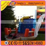 Customized inflatable rock climbing wall with factory price