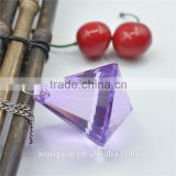 luxury crystal chandelier parts large prism pendent light decoration wholesale