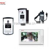 RainshadeT2-IDH6 7 inch monitor Home security system video door phone intercom system waterproof