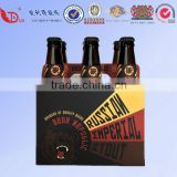 Accept custom order recyclable cardboard 12 pack beer bottle box gift boxes packing box