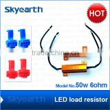 2x Load Resistor 50W 6-Ohm Fix LED Hyper Flash Fast Blink Turn Signal OBC Sales                                                                         Quality Choice