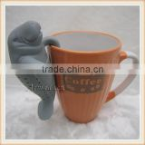 Hot new products for 2015 silicone tea infuser for tiki mug