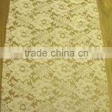 guipure embroidery fabric lace with flower with factory price/for wedding dress/bridal gowns