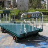 Baggage cart for aviation ground support GSE equipment