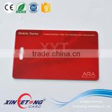 Punch Hole PVC Card with Desfire 2K chip RFID Smart ID Card